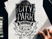 City Park Sketch