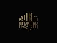 Prohibited Provisions