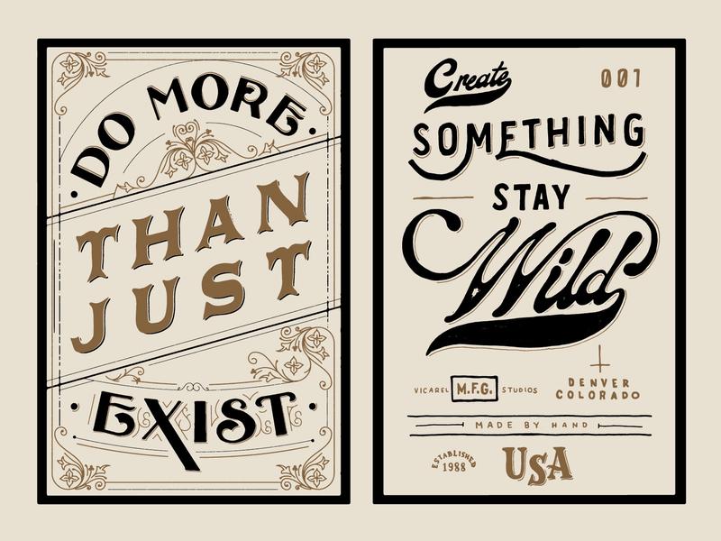 Sharpie Lettering sharpies crest typography victorian serif sans serif script stay wild hand lettering lettering sharpie