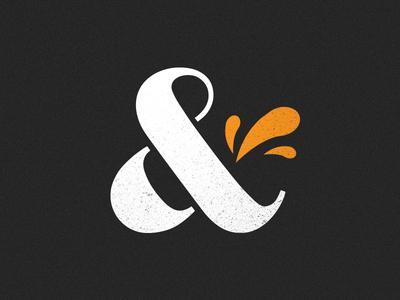 Ampersand for brand