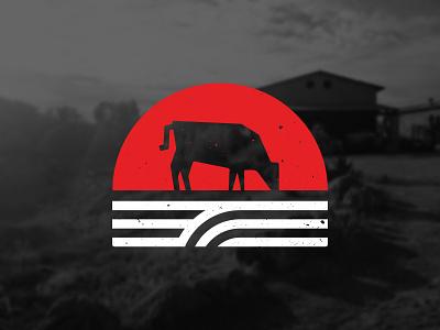 Wagyu Beef Farm Mark - Work in progress logodesign branding cow texture mark logo farming beef wagyu