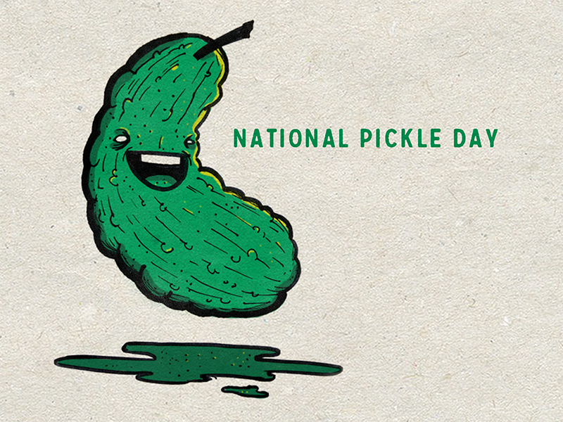 11 14 17 national pickle day