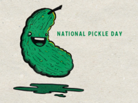 November 14th - National Pickle Day