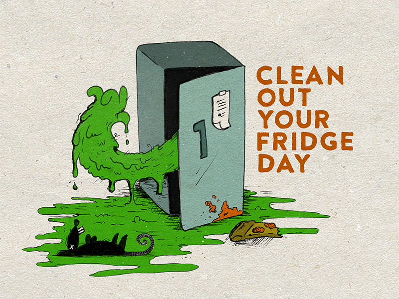 November 15th - Clean Out Your Fridge Day by Justin Miller ...