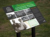 Historical Landmark Signage