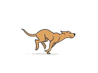 Dog Run Cycle run cycle motion texture retrosupplyco retro dog animation 2d