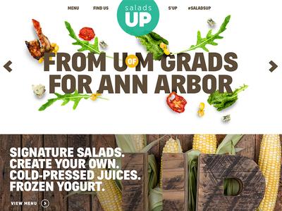 Salads UP - Refresh