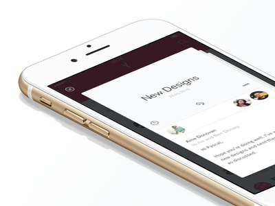 Peek glance 3d touch ux ui inbox email mobile ios force touch peek and pop