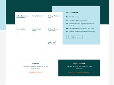 Help Centre flinto website type magazine minimal clean fintech finance responsive support help centre web