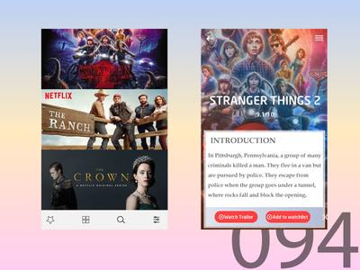 Day94 - TV App UI