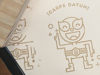 Lasercut Stamping stamping lasercutting texture stamp lasercut dance illustration character emoji luchador cute laugh