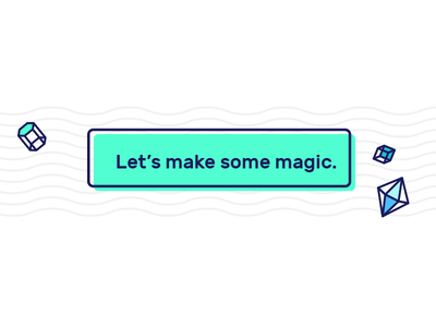 buttons should be more fun data teal magic cute button style geometry wave fui ui button