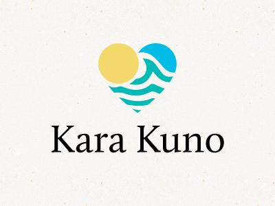 Kara Kuno Pt. 2 tourism matthew wiard byranding logo sunset waves blue coral matthew wiard
