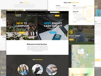 UCF Card Services Website Redesign