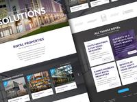 Royal Properties Redesign