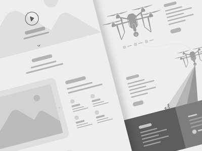 Wireframe Process greyscale website low fidelity wires application web web design planning wireframe