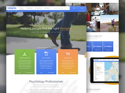 Healthcare Preview about careers web design uiux inviting friendly psychology healthcare website web