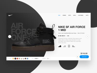3 full screen experience modern web design uiux nike ecommerce exploration