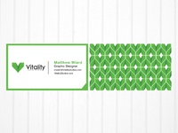 Vitality Business Cards