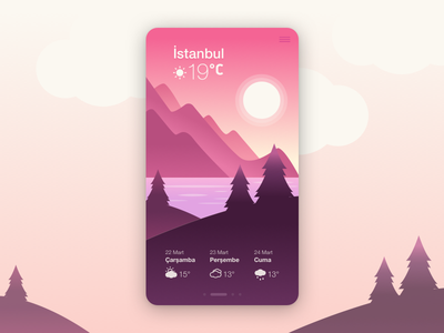 Weather App UI ui uidesign weather app weather