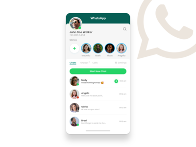 WhatsApp Redesign redesign app whatsapp