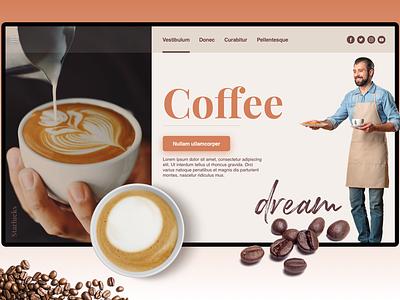 Coffee Company - Landing Page coffeeshop coffee landing page