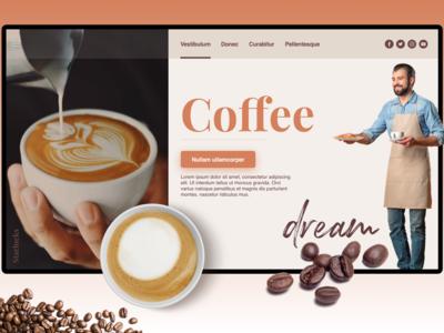 Coffee Company - Landing Page