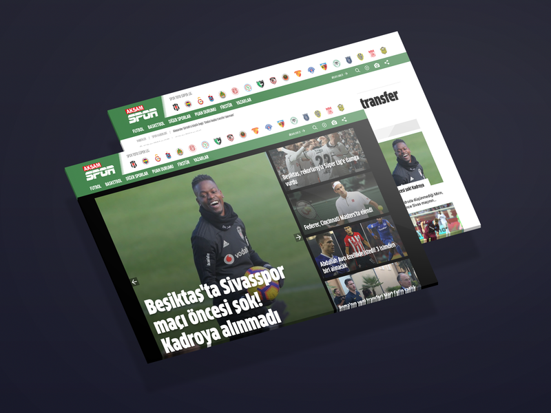 Aksam Spor Website