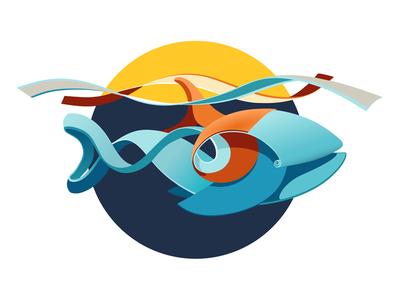 QUILLED 2D | big fish