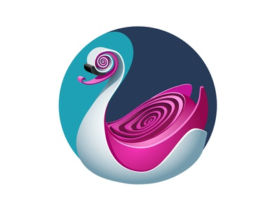 QUILLED 2D | Swan