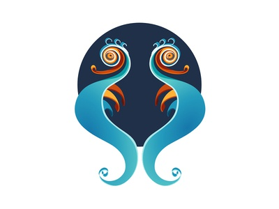 QUILLED 2D | Seahorse