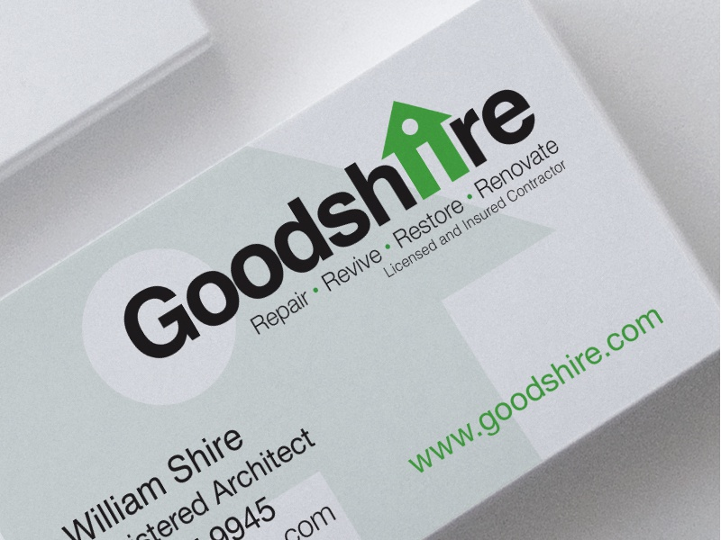 Goodshire branding business card by jennifer healy dribbble colourmoves