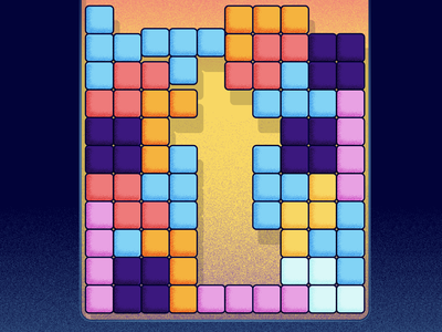 T for Tetris - 36 days of type