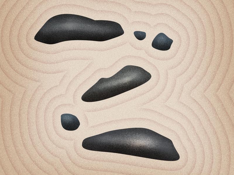 Z for zen - 36 days of type 2019 illustration typogaphy 36daysoftype06 36daysoftype