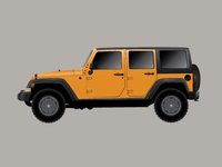 Vector Jeep