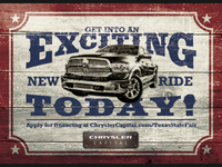 Chrysler Capital: Ram Texas State Fair Postcard