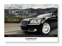 Chrysler Texas State Fair Postcard