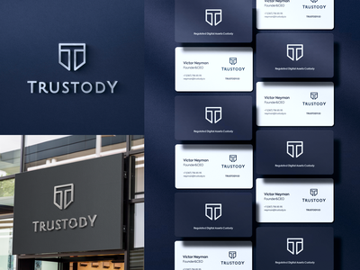 Crypto custody service logo design custody cryptocurrency crypto branding design logo design logotype logo