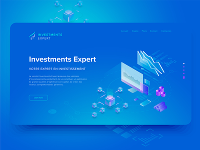 investments expert website ui website investments crypto