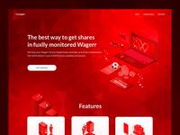 Invwstiment service web design