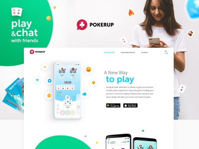 Behance Case Pokerup