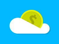 Money Cloud Icon