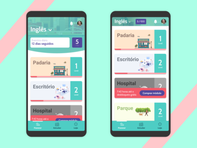 Language learning platform