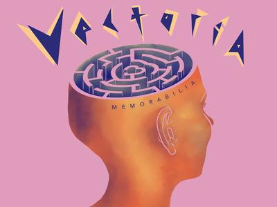 "Vectoria ""Memorabilia"" EP music cover"