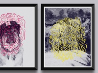 Halftone Posters Experiment