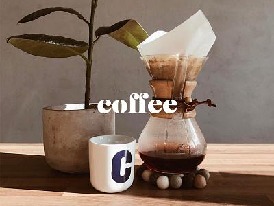 Coffee coffee caslon typography type