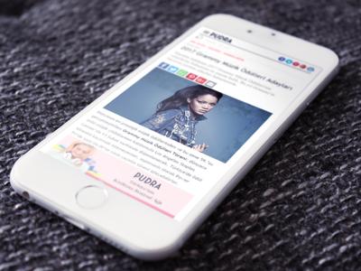 Pudra (2009-2017) Kadın Yaşam Portalı kadın portal woman web ux ui responsive layout html homepage design css