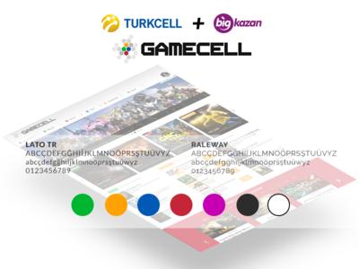 Gamecell - 2016 (Turkcell + Bigkazan) web ux ui responsive layout landing photoshop css html gamecell turkcell