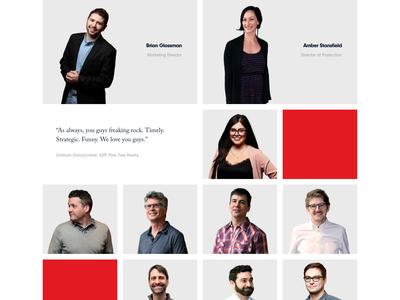 Team Page soliddigital chicago branding design