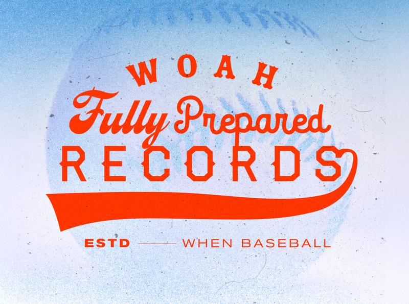Woah Fully Prepared Records branding wordmark typography logotype logo